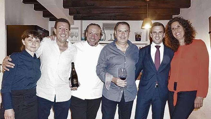 Cena de gala en El Olivo con Codorniu Raventós