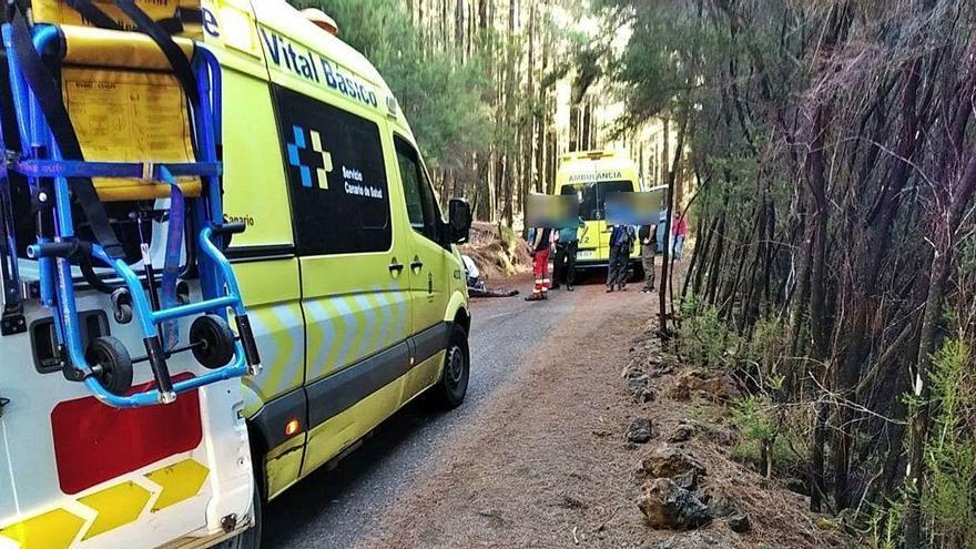 Fallece un senderista al sufrir un infarto en Las Lagunetas (Tenerife)