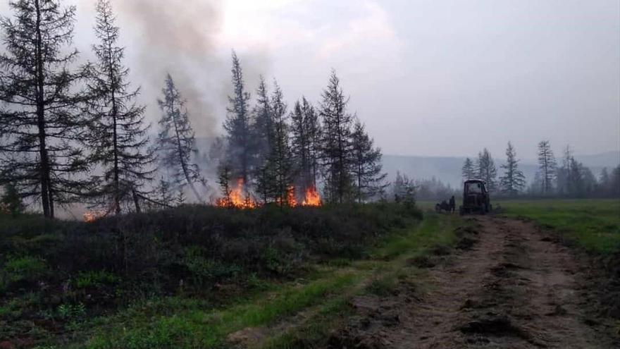 Siberia registra de nuevo este verano récord de calor