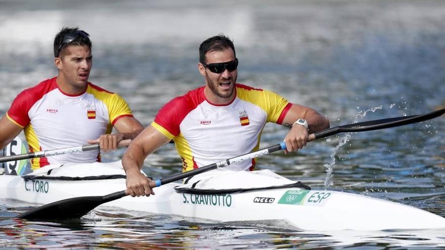 Craviotto y Toro conquistan el oro en piragüismo K2 200