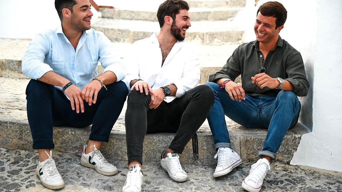 Los tres socios de Bumpers, Juan Miguel Fernández (izda.), Nacho Pérez (centro) y Fran Ruiz.