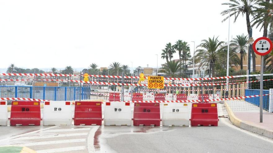 Xàbia cierra definitivamente el puente de Triana
