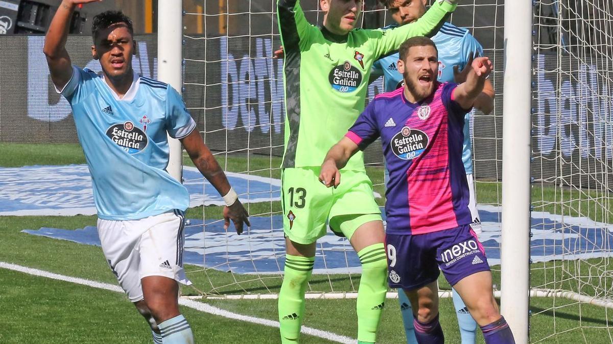 Las mejores imágenes del Celta - Valladolid
