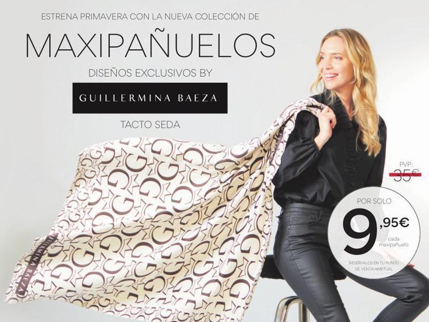 Promoción Maxipañuelos de Guillermina Baeza