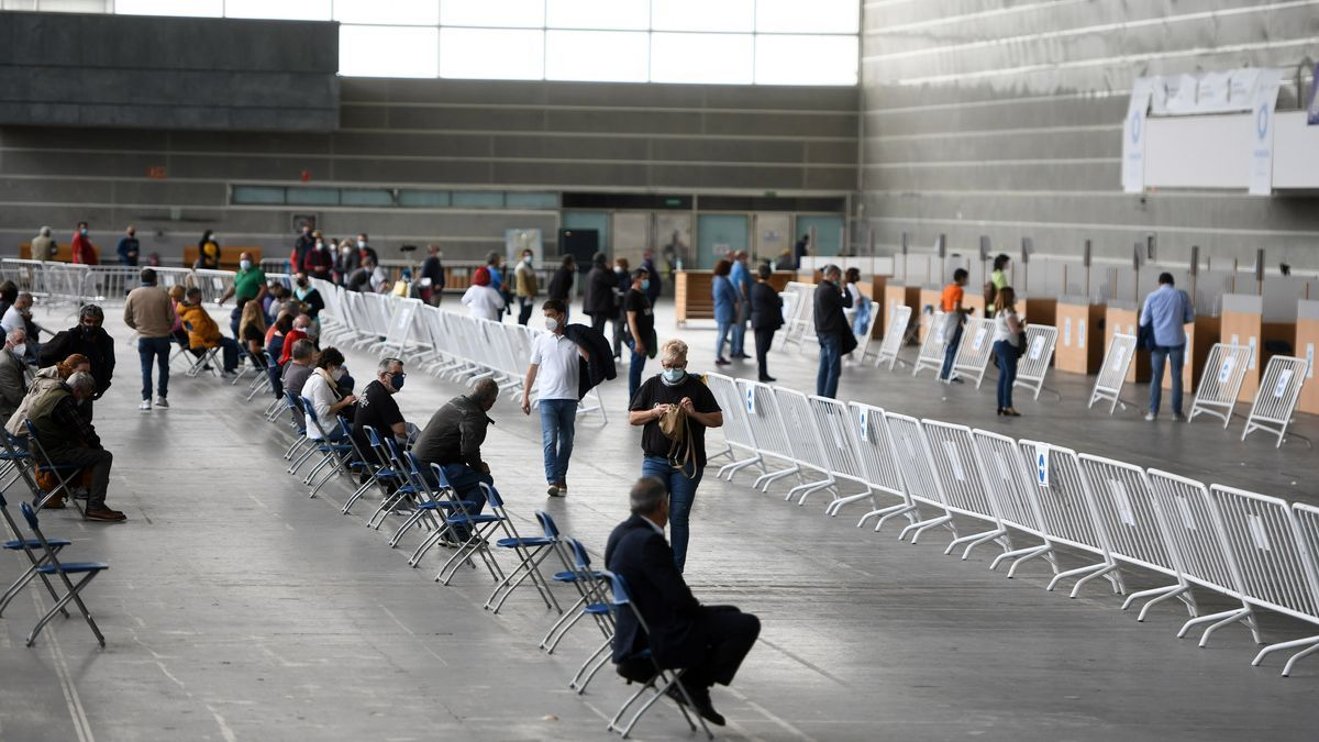 Vacunación masiva en Pontevedra, este fin de semana