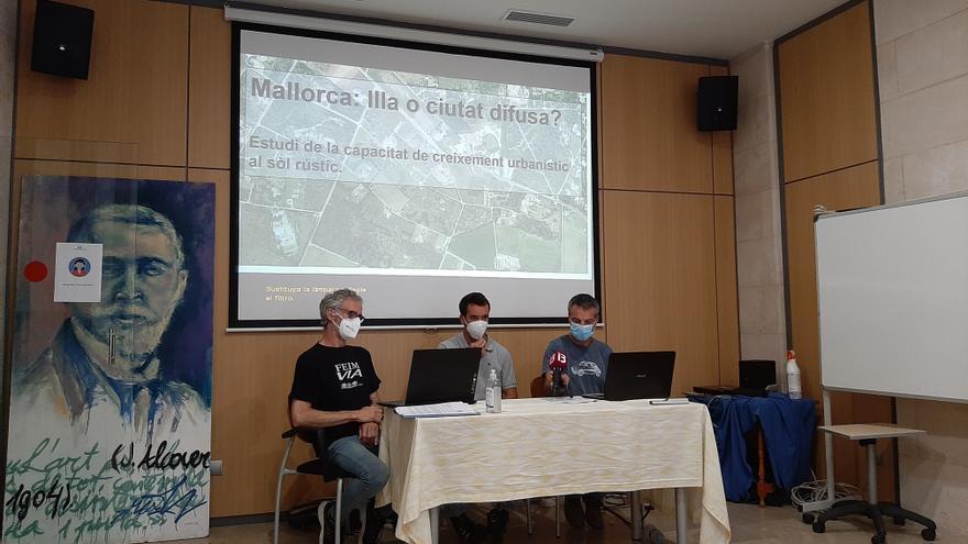Terra Ferida denuncia que se pueden construir otras 11.214 viviendas en el suelo rústico de Mallorca