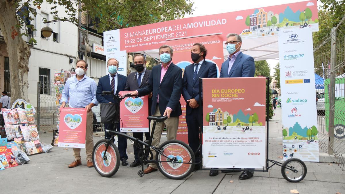 Presentación de la Semana Europea de la Movilidad en Córdoba.