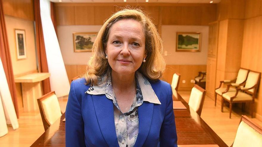 """Nadia Calviño: """"La competencia fiscal a la baja es irresponsable y empobrece a todos"""""""