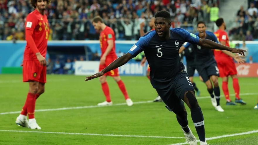 Umtiti situa França a la final del Mundial