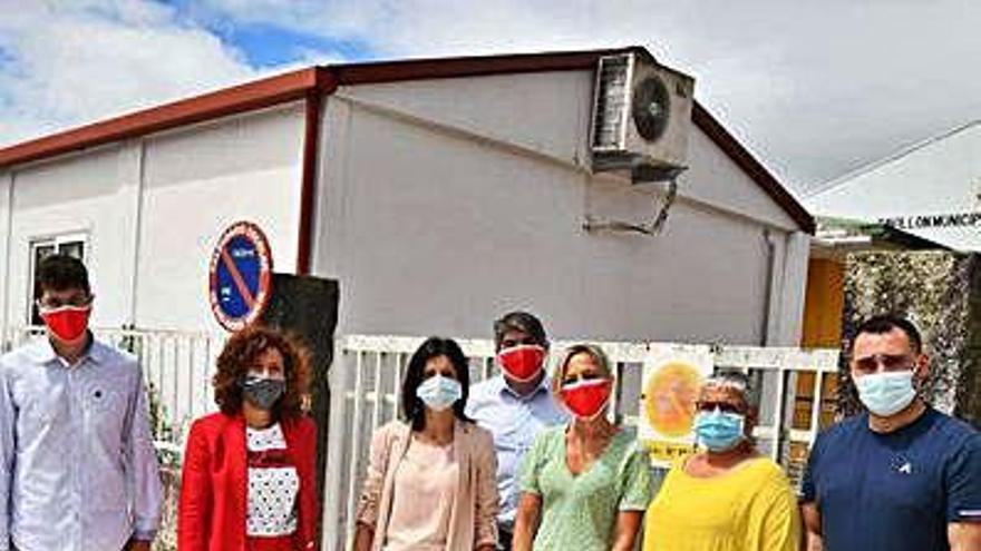 El PSOE promete un nuevo colegio en Salceda si Caballero logra presidir la Xunta