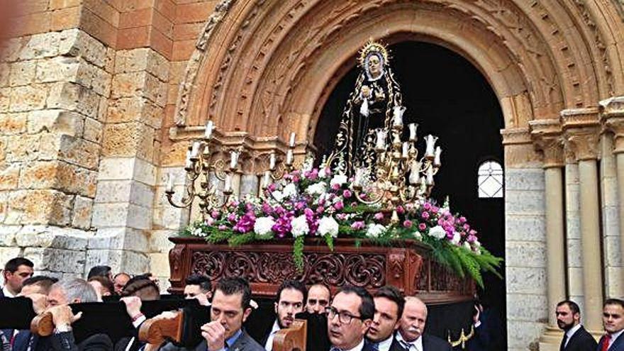 La Soledad de Toro, expuesta en besamanos el día de la Inmaculada en Santa Catalina