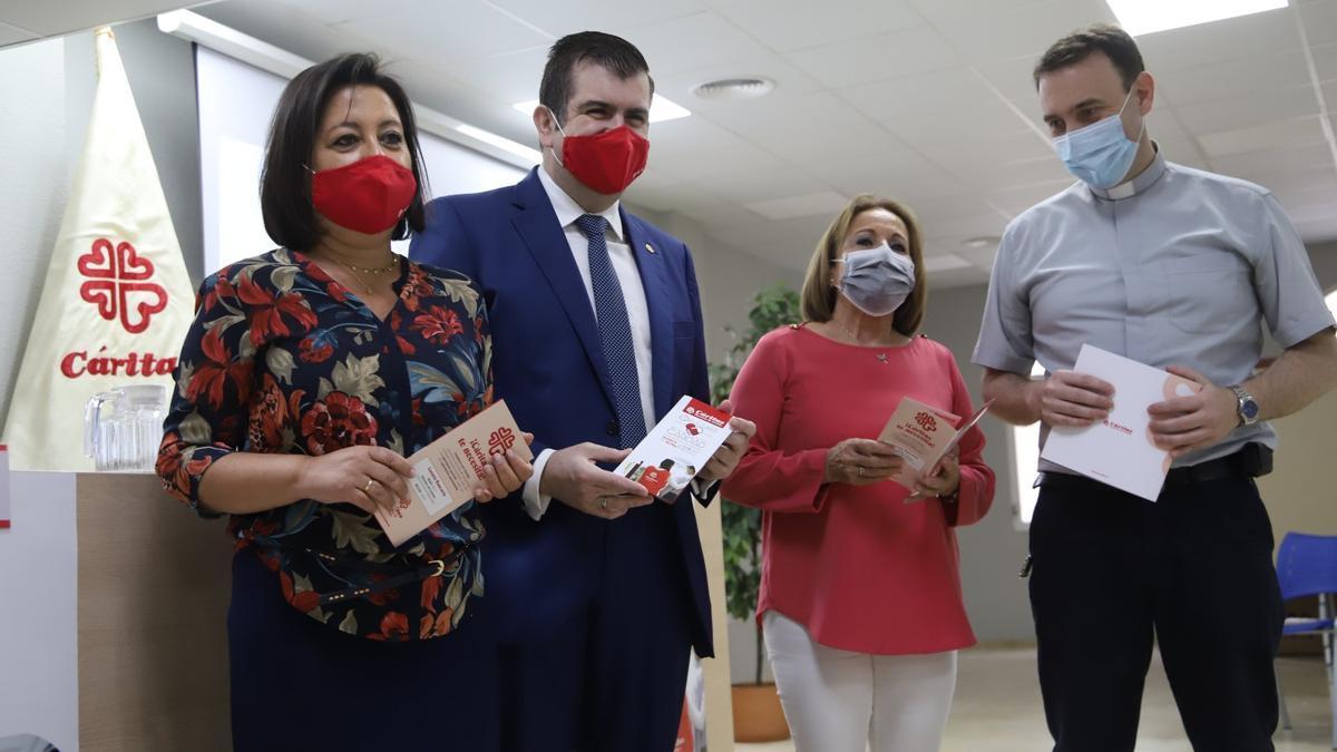 Presentación de la Memoria de actuaciones 2020 de Cáritas Diocesana de Córdoba