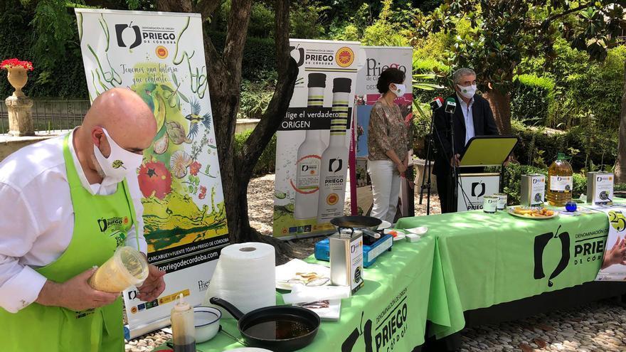 La DOP de Priego lanza un aove para cocina y fritura en su 25º aniversario