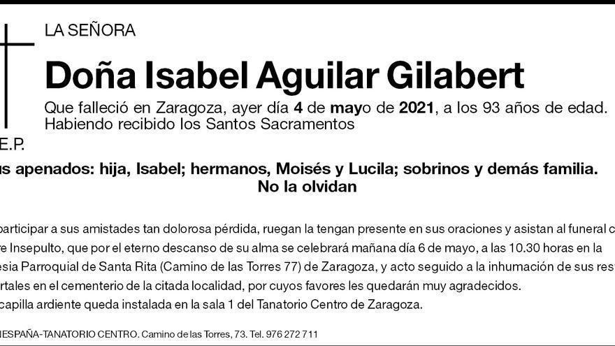 Isabel Aguilar Gilabert