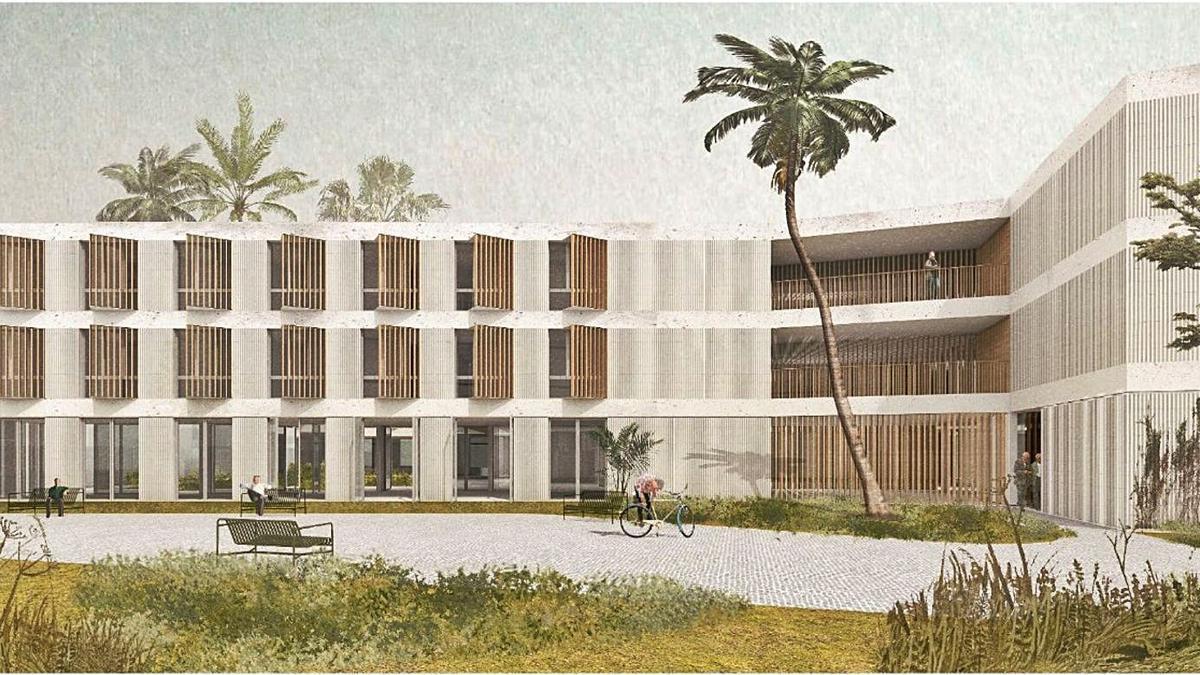 Imagen del diseño de la residencia de Son Martorell de Palma.  | CAIB