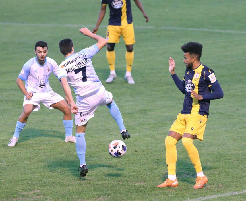 Las imágenes del Compostela-Deportivo