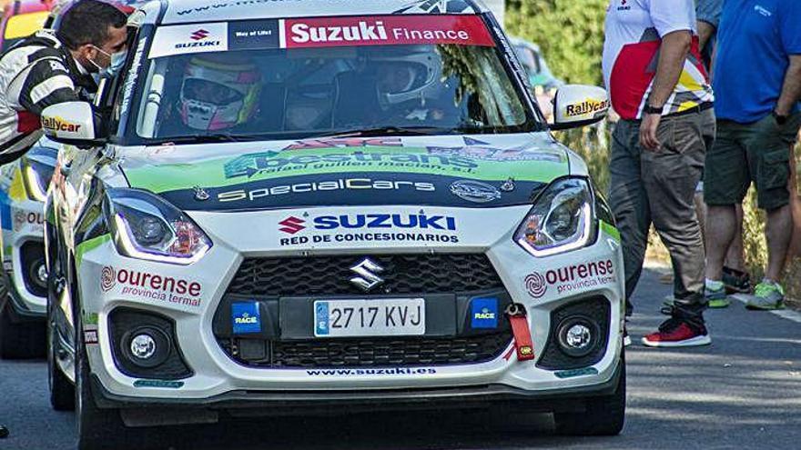Pepe López saldrá de primero en el Rallye de Ourense