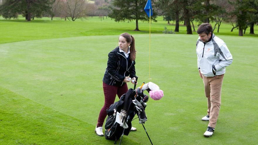 """El Club de Golf de Castiello reformará un tercio de su campo para que sea """"más amable"""""""