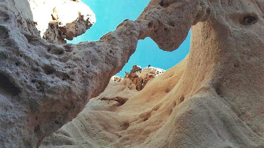 Las insólitas formas del 'marès'