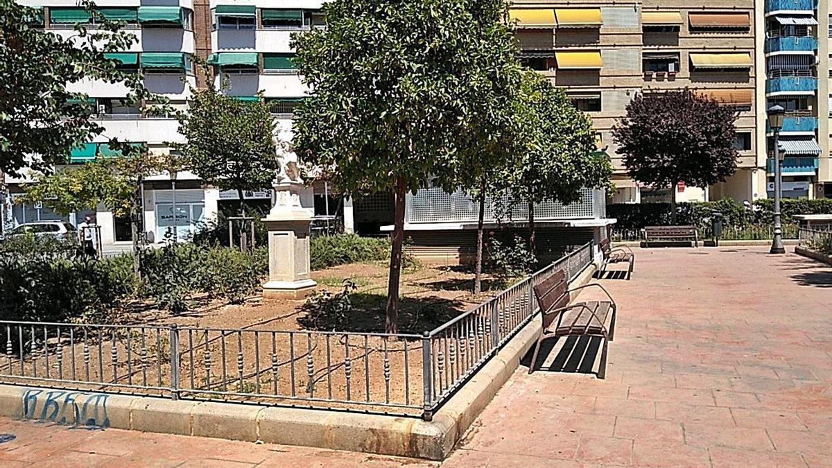 Vista del ahora denominado Jardín de Pontons.  | LEVANTE-EMV