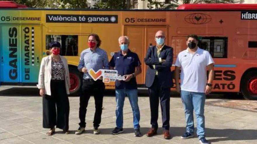 Viajar en autobús el día del Maratón de València, será gratis