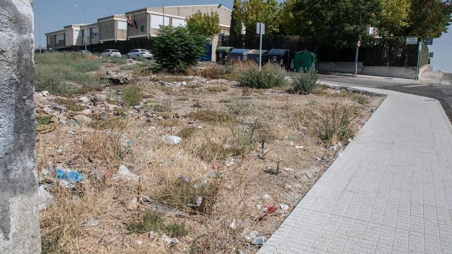 El PSOE pide un plan de impulso para los barrios al norte de la vía del tren en Badajoz