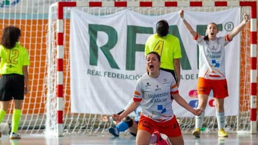 La UA y el Xaloc ya están en octavos de la Copa de la Reina