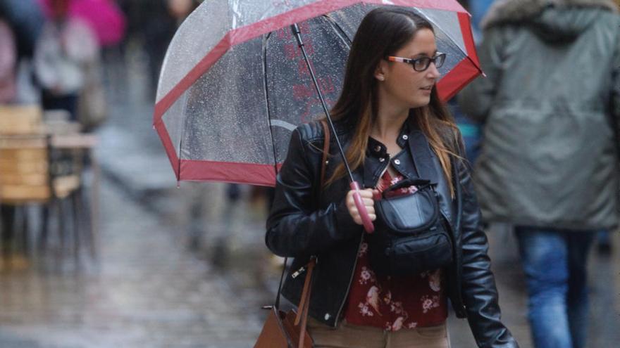 El paso de un frente atlántico dejará lluvia y frío en Valencia