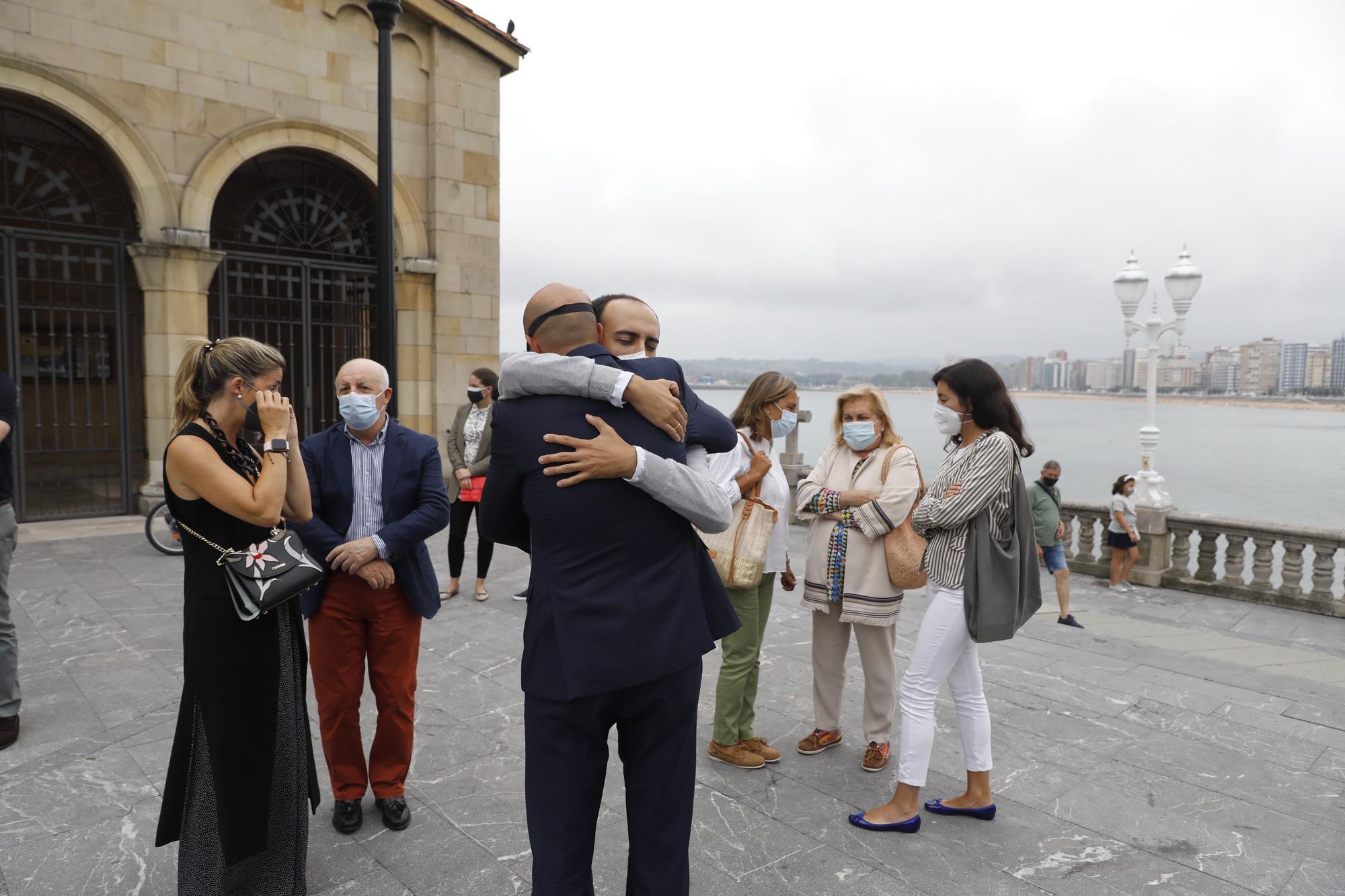 "Emocionante despedida a Alfonso Peláez, gijonés ""que vivió e hizo vivir la ciudad"""