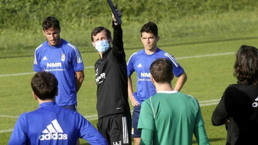 El último ensayo del Cuco: este es el posible once del Oviedo ante el Espanyol