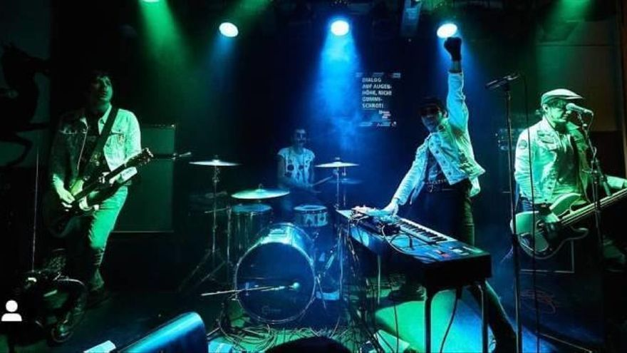The Scaners: Garaje Punk Synth Retro en TNT