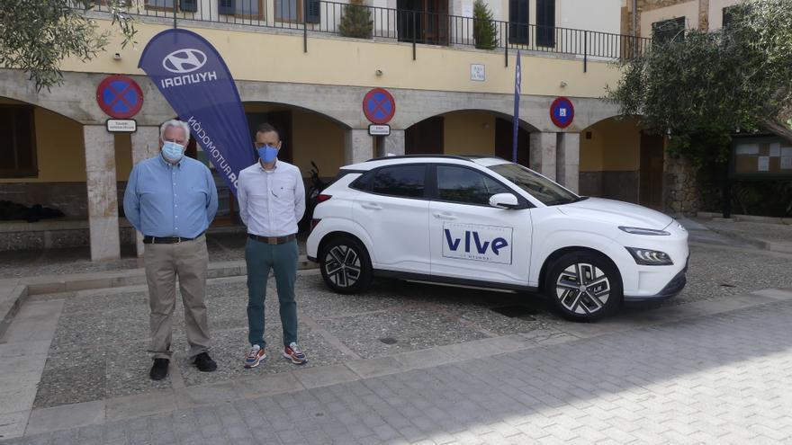 VIVe, el carsharing 100% eléctrico de Hyundai, llega a Banyalbufar
