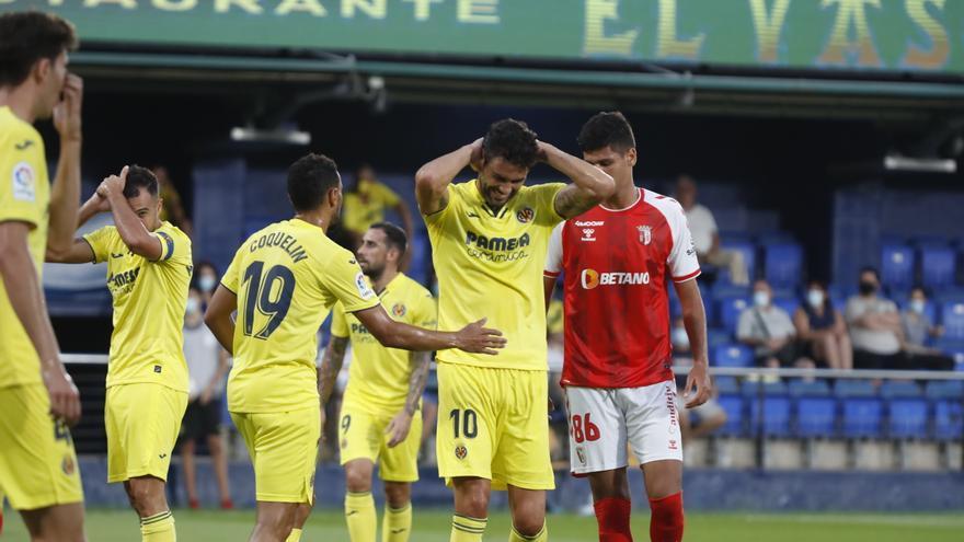 El Villarreal pierde al amistoso ante el Sporting de Braga pero gana a Iborra (2-3)