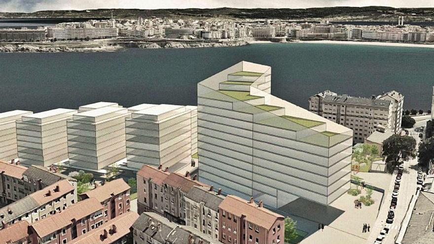 Metrovacesa defiende que As Percebeiras respeta las vistas de la Torre que establece el plan general