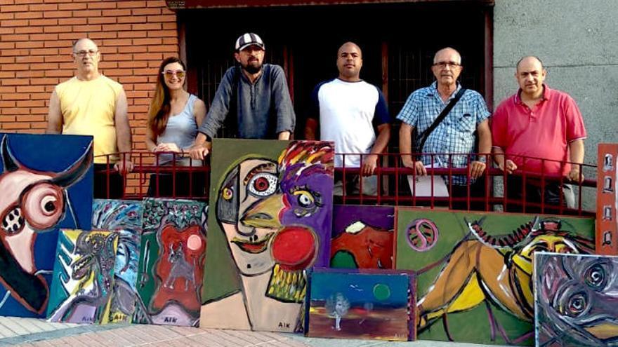 La Asociación Espiral recibe un lote de obras del 'Legado Aikaide'