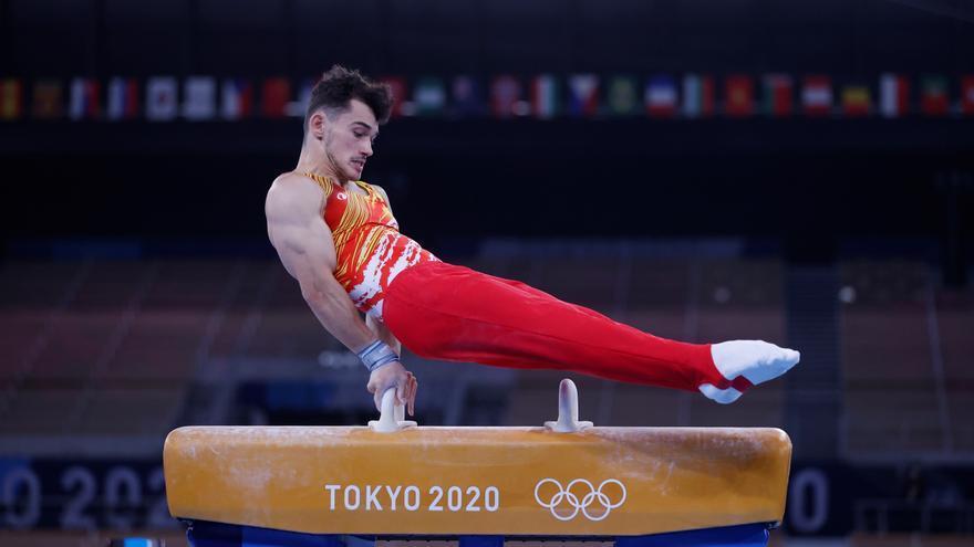 El gimnasta Nicolau Mir da la talla en su estreno olímpico