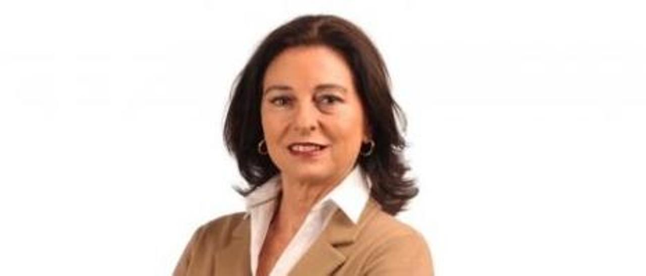La almeriense Rosalía Mayor, presidenta de la APPA y Alicante de Adopción.