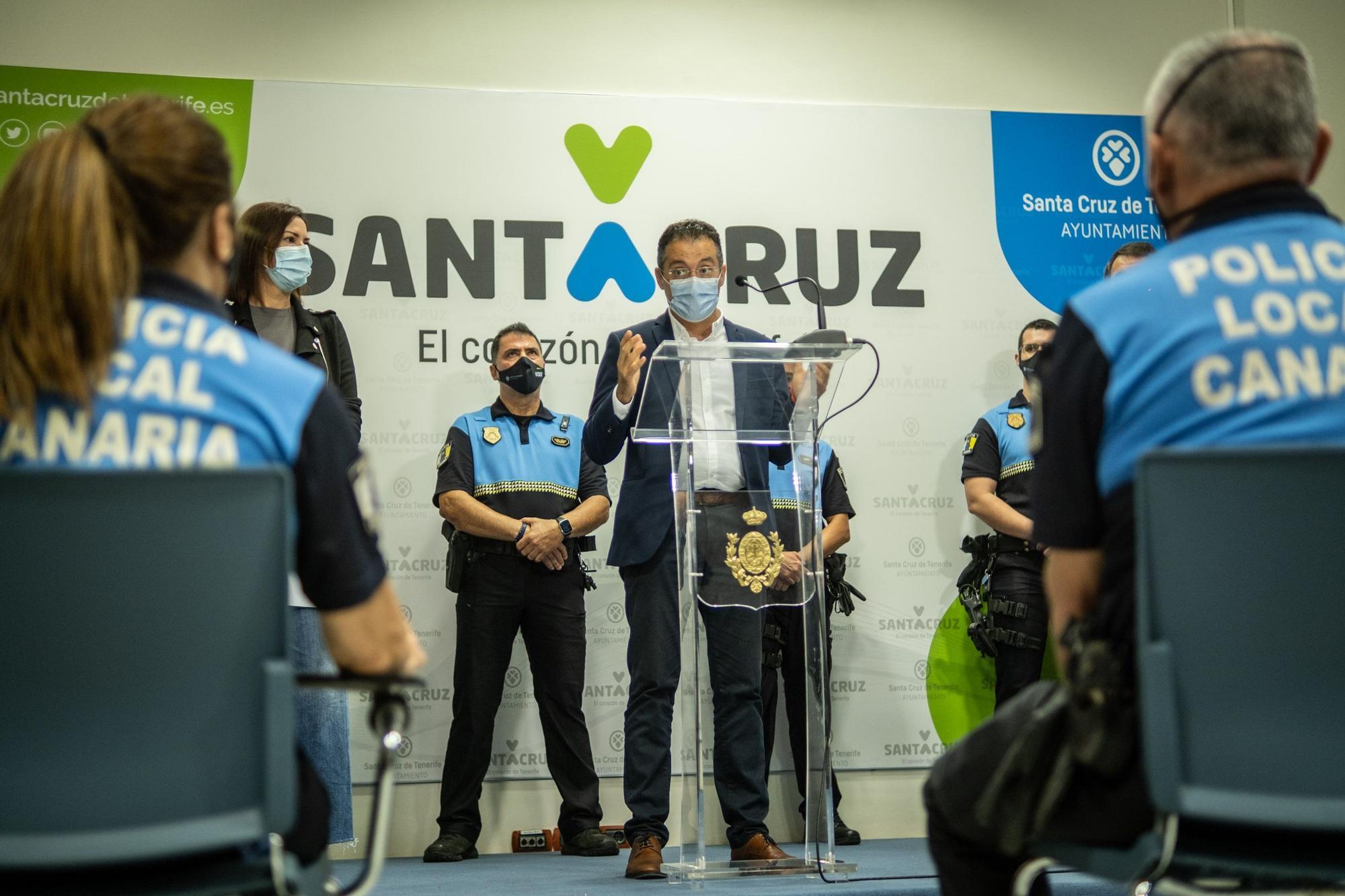 Presentación operación productos falsificados Santa Cruz