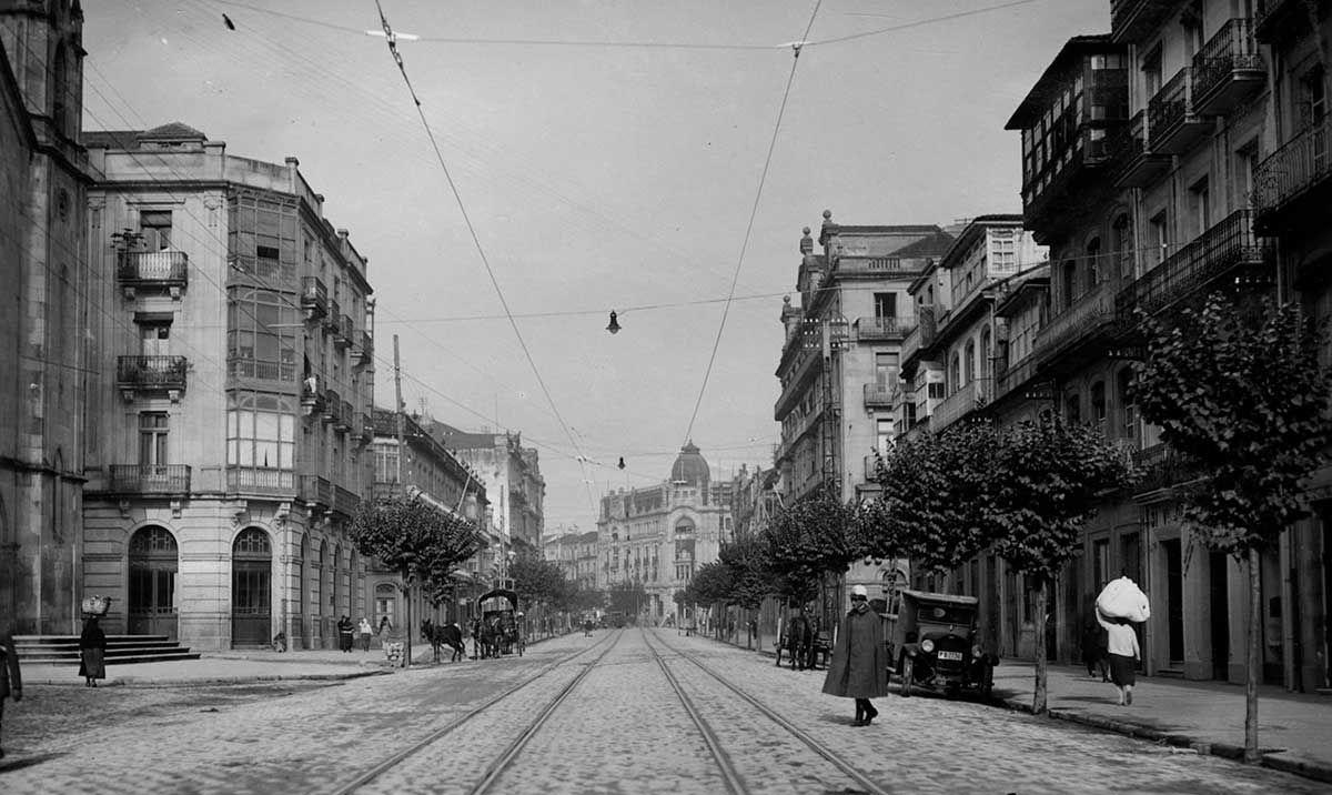 Avenida de García Barbón 1920-1936