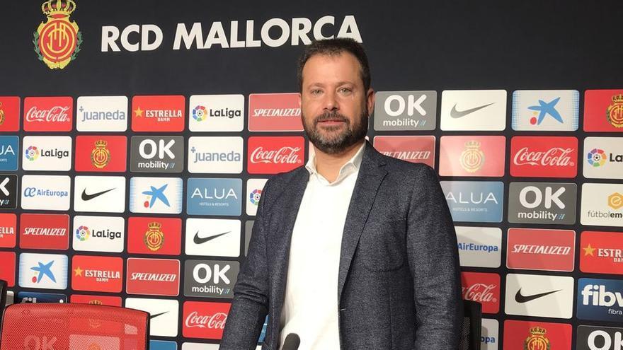 Pablo Ortells, un químico de Castelló que lidera el proyecto deportivo del Mallorca