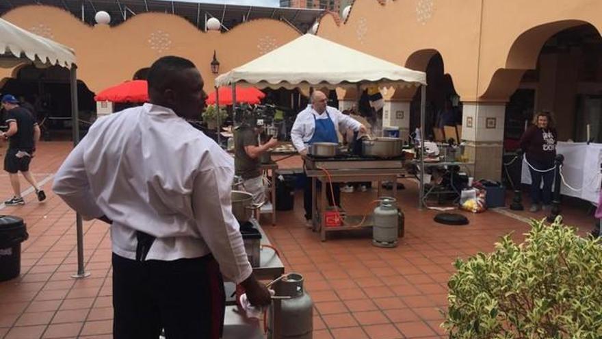 Rodaje de MasterChef Celebrity de la BBC en Canarias