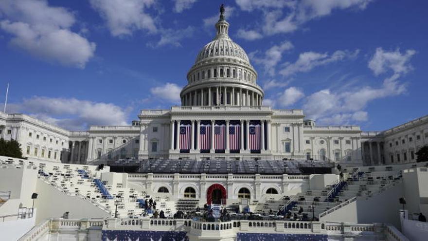 Nervios en la seguridad días antes de la toma de posesión del presidente electo Joe Biden