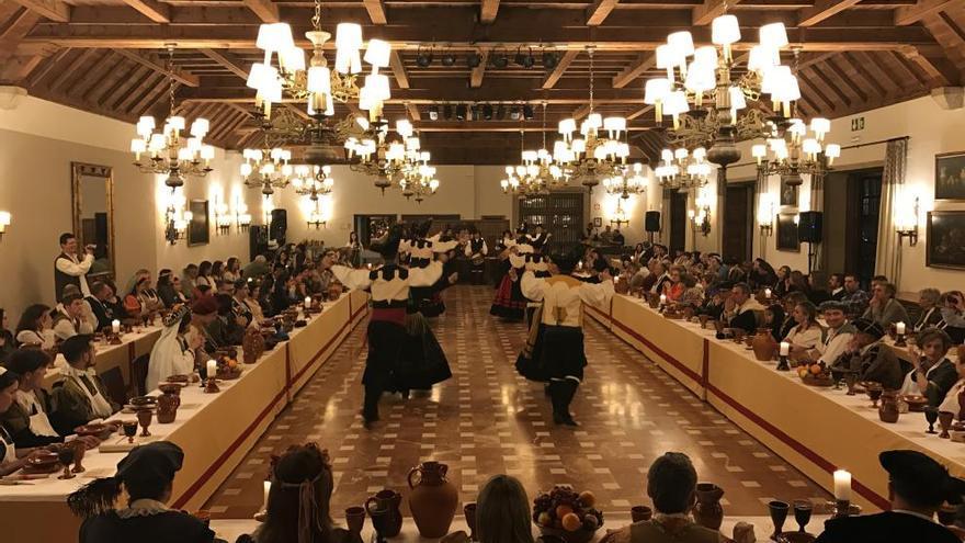 Cena medieval por el 20 aniversario de Aceba