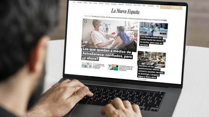 Suscríbete a LA NUEVA ESPAÑA por menos de 4 euros al mes: descubre aquí cómo hacerte suscriptor paso a paso