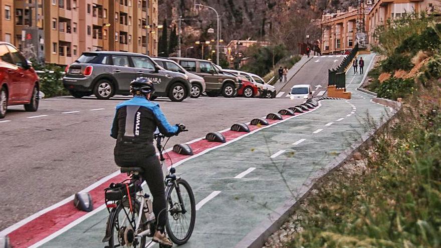 Aceras libres de bicis y patinetes con la nueva ordenanza en Alcoy