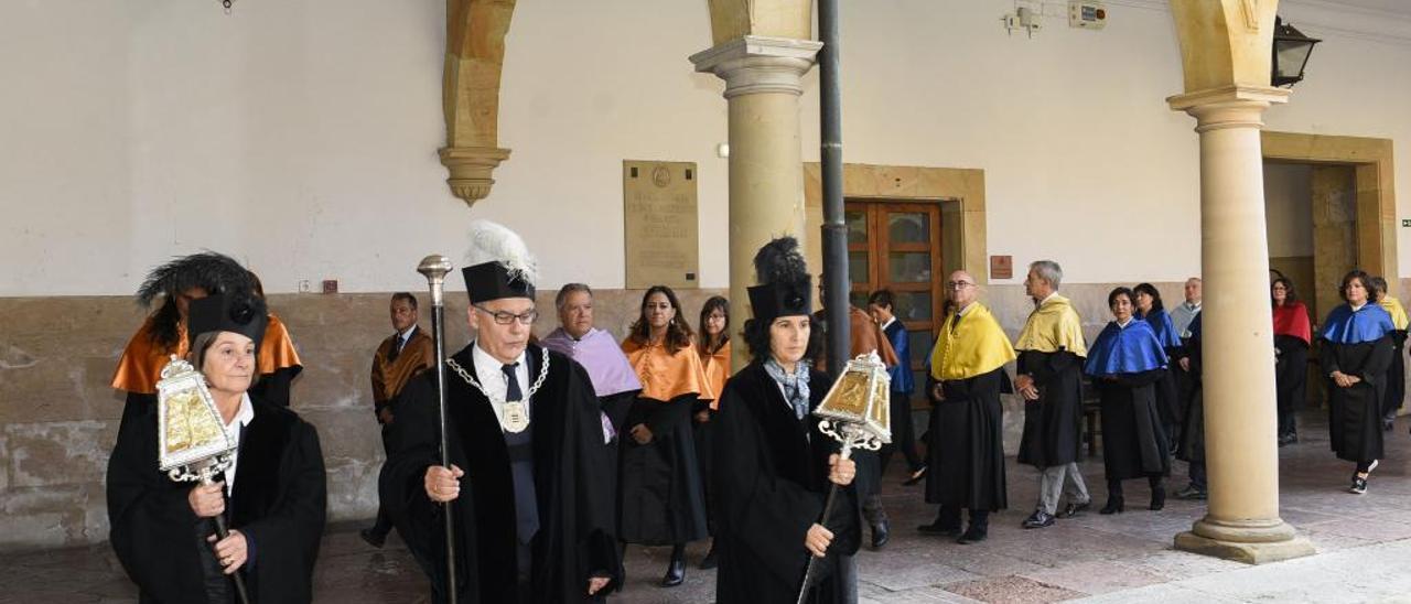 Un acto celebrado en la Universidad de Oviedo