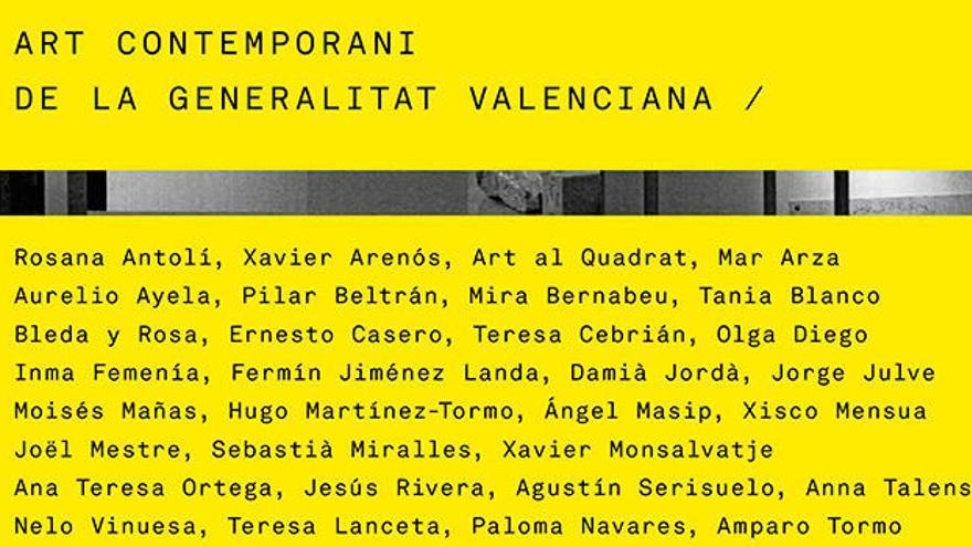 «Art contemporani de la Generalitat Valenciana»