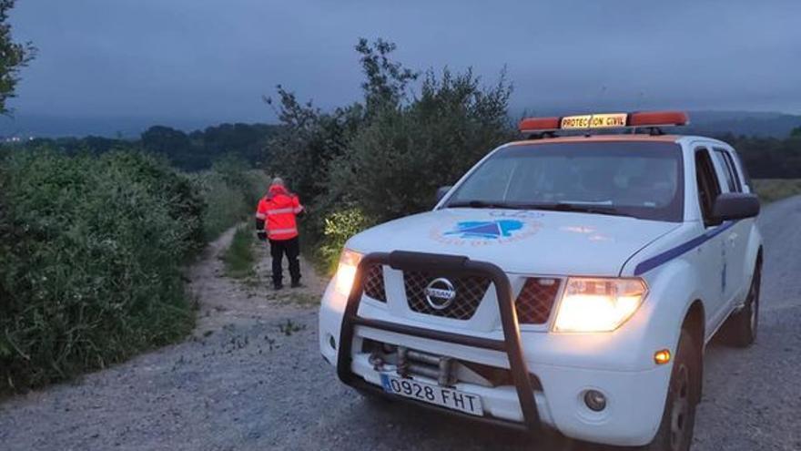 Encuentran sano y salvo de madrugada a un nonagenario desaparecido en Rodeiro