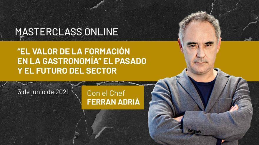 Ferran Adrià tanca el curs acadèmic d'Hoteles Escuela de Canarias