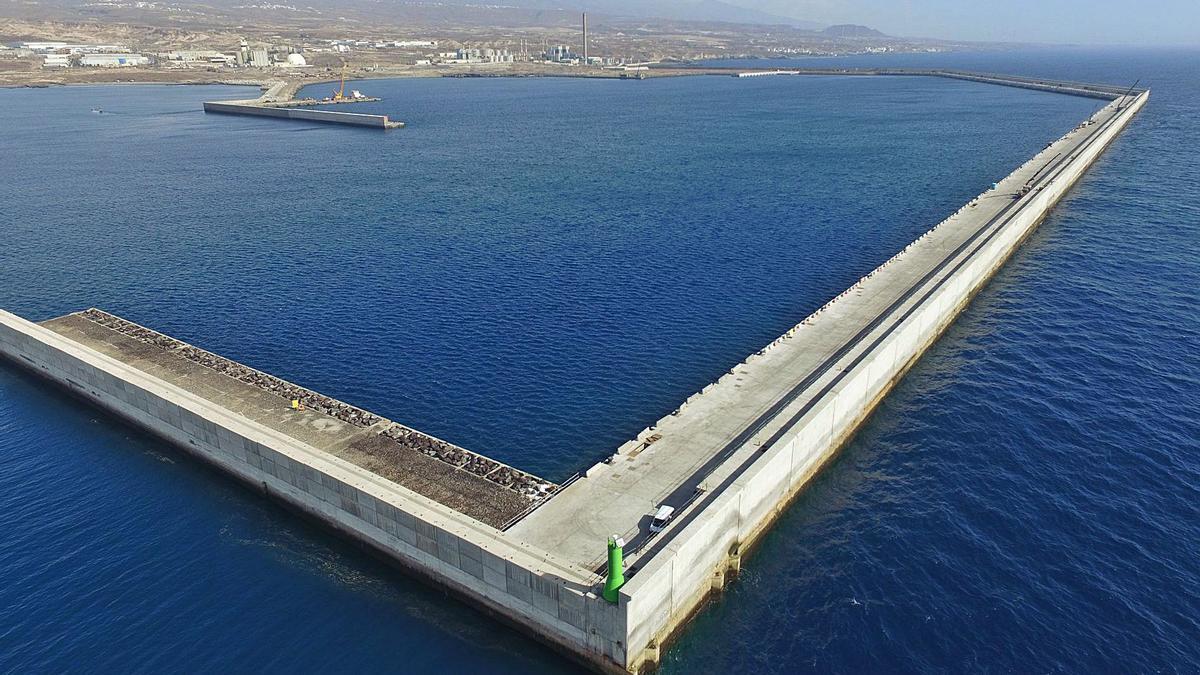 Puerto de Granadilla de Abona.
